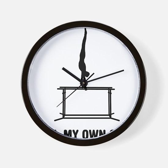Gymnastic--Parallel-Bars-02-03-A Wall Clock