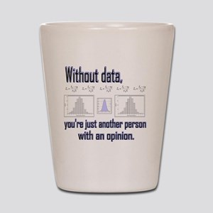 without data Shot Glass
