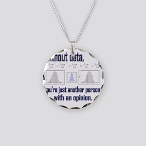 without data Necklace Circle Charm