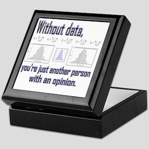 without data Keepsake Box