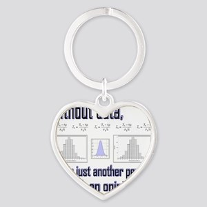 without data Heart Keychain