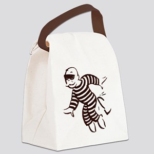get out of jail now Canvas Lunch Bag