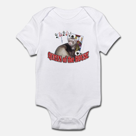 QUEEN of the HOUSE Infant Bodysuit