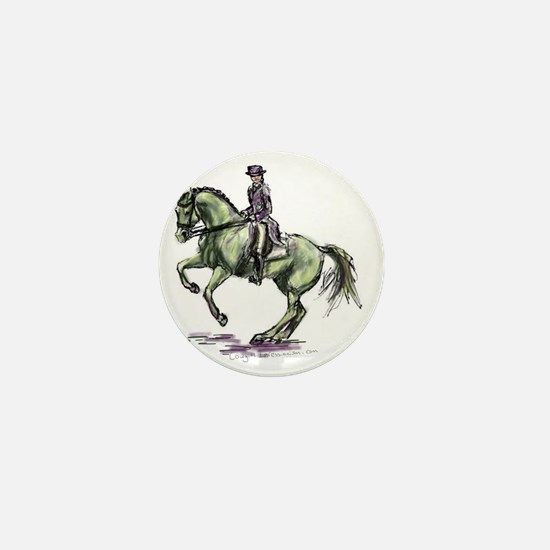 Dressage Mini Button