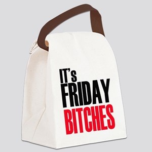 Friday Bitches Canvas Lunch Bag