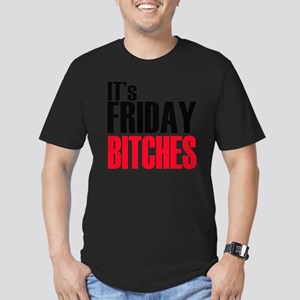 Friday Bitches Men's Fitted T-Shirt (dark)