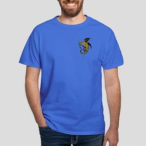 Black/Gold Ring Dragon Dark T-Shirt