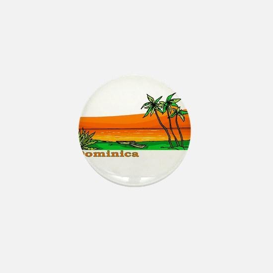 Dominica Mini Button