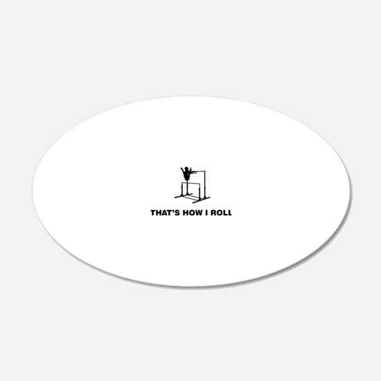 Gymnastic---Uneven-Bar-02-12 Wall Decal
