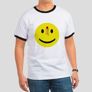 Dead Smiley Ringer T