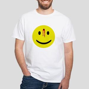 Dead Smiley White T-Shirt