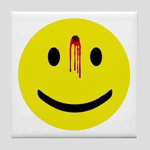 Dead Smiley Tile Coaster