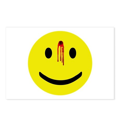 Dead Smiley Postcards (Package of 8)