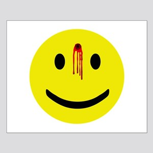 Dead Smiley Small Poster