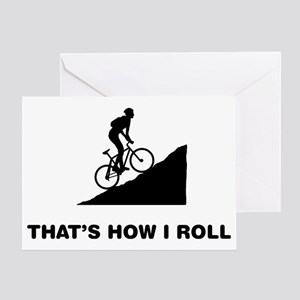 Mountain-Biking-12-A Greeting Card