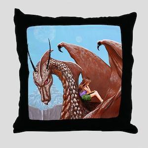 The Book of the Dark Dragon:  Throw Pillow