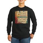 Homeschool Tag Cloud Long Sleeve T-Shirt