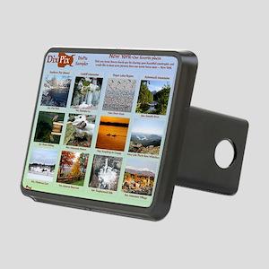DixPix Calendar Sampler 1 Rectangular Hitch Cover