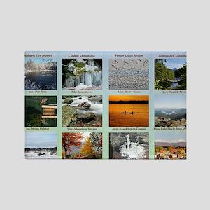 DixPix Calendar Sampler 1 Rectangle Magnet