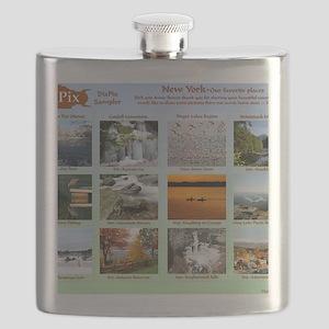DixPix Calendar Sampler 1 Flask