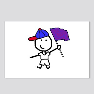 Boy & Color Guard Postcards (Package of 8)