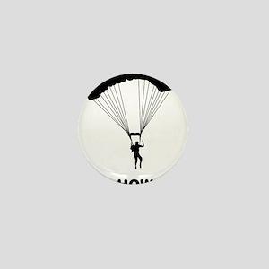 Parachuting-12-A Mini Button