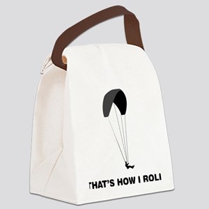 Paragliding-12-A Canvas Lunch Bag