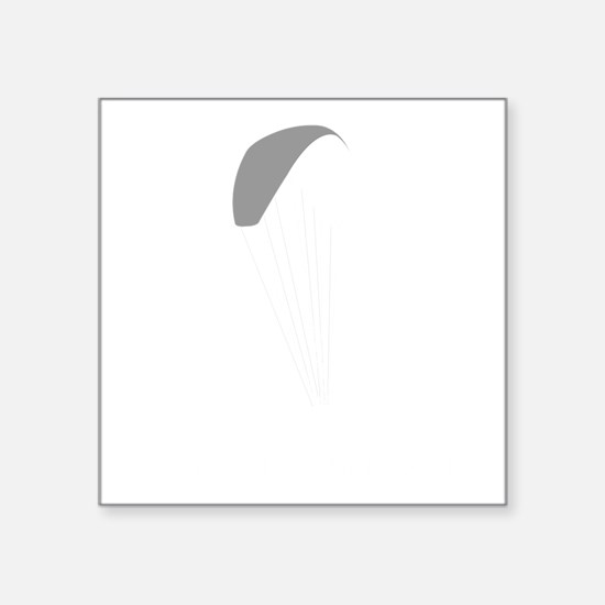"Paragliding-12-B Square Sticker 3"" x 3"""