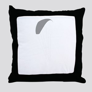 Paragliding-12-B Throw Pillow