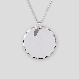 Paragliding-12-B Necklace Circle Charm