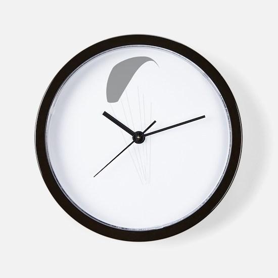 Paragliding-12-B Wall Clock