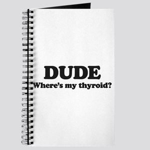 DUDE where's my thyriod? Journal