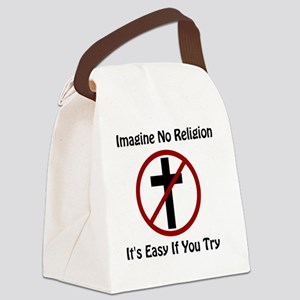 Imagine No Religion 1 Canvas Lunch Bag