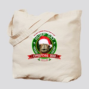Hump Day Camel Christmas Ale Label Tote Bag
