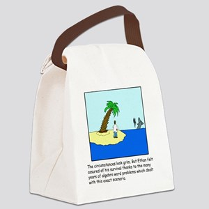 Desert Island Joke (TS-C) Canvas Lunch Bag