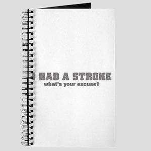 i had a stroke Journal