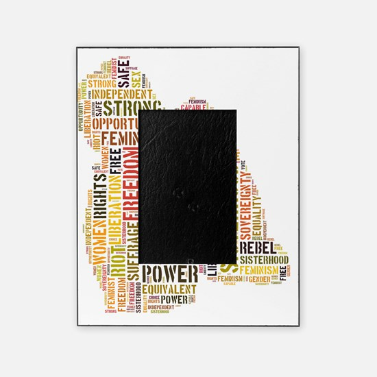 Feminism equals Strength Picture Frame