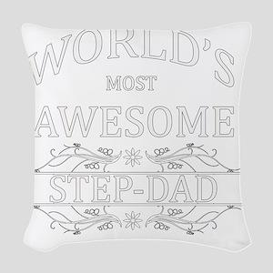STEPDAD Woven Throw Pillow