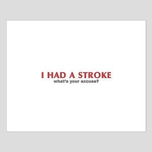 i had a stroke  Small Poster