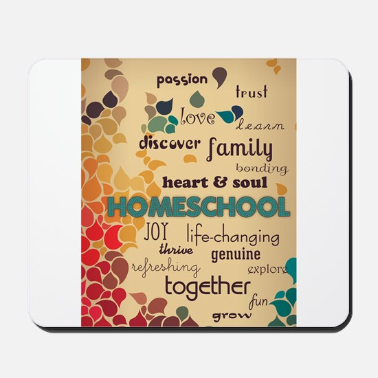 Homeschool Cloud Mousepad