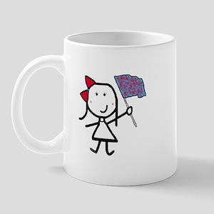 Girl & Color Guard Mug