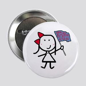 "Girl & Color Guard 2.25"" Button"