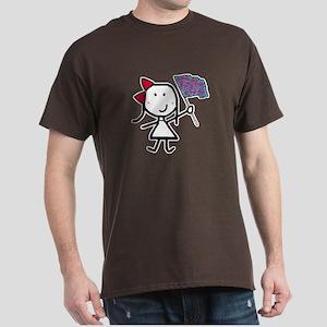 Girl & Color Guard Dark T-Shirt