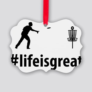 Disc-Golf-06-A Picture Ornament