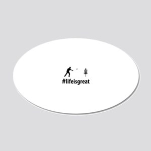 Disc-Golf-06-A 20x12 Oval Wall Decal