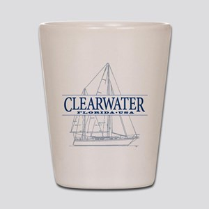 Clearwater Florida - Shot Glass