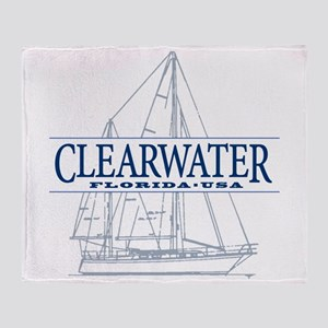Clearwater Florida - Throw Blanket