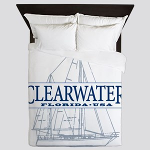 Clearwater Florida - Queen Duvet