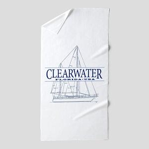 Clearwater Florida - Beach Towel