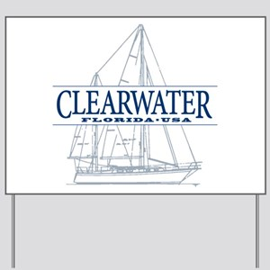Clearwater Florida - Yard Sign